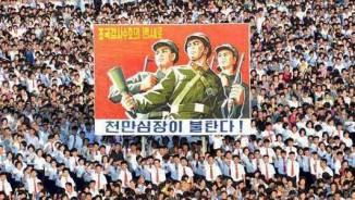 Vạn dân Triều Tiên đổ ra đường ủng hộ ông Kim Jong-un