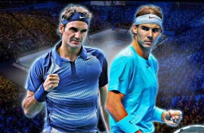 """Nadal thua sốc """"tự bắn vào chân"""": Federer rất gần ngôi số 1 - 1"""