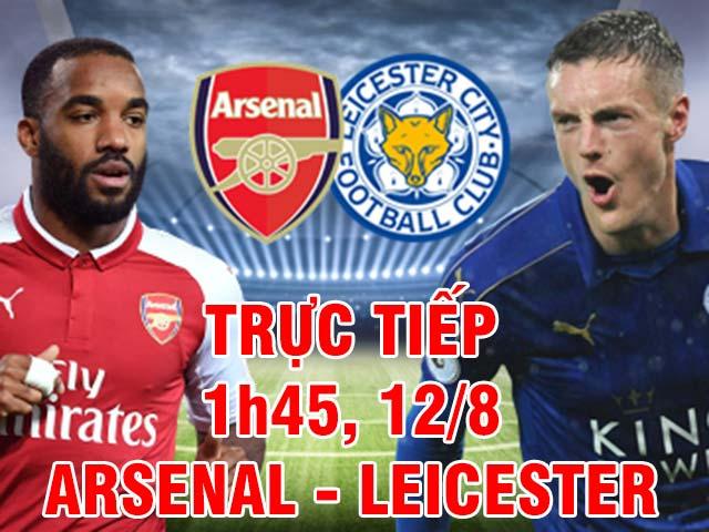 TRỰC TIẾP bóng đá Arsenal - Leicester: Lacazette 48 triệu bảng ra mắt