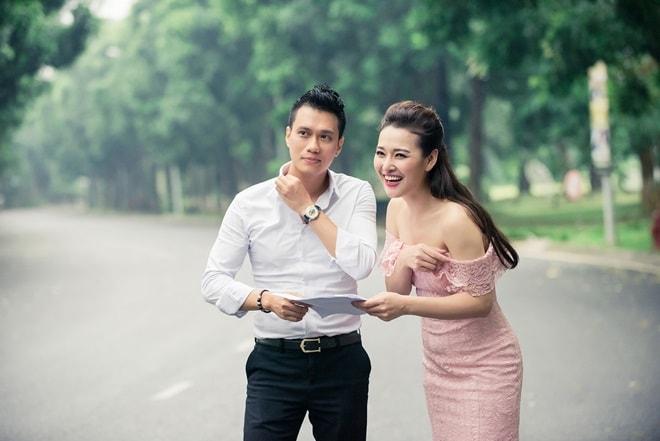 MC Lê Thùy Linh thế chỗ Đan Lê, làm vợ của 'Phan Hải' Việt Anh - 1