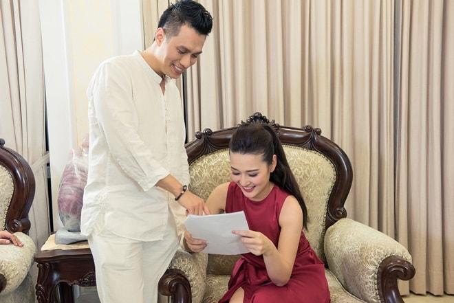 MC Lê Thùy Linh thế chỗ Đan Lê, làm vợ của 'Phan Hải' Việt Anh - 2