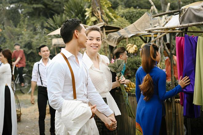 Hà Hồ đã phải dùng cách này để đủ can đảm hôn trai đẹp Kim Lý - 3