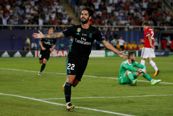 Chuyển nhượng Real 11/8: Isco ký hợp đồng 700 triệu euro - 1