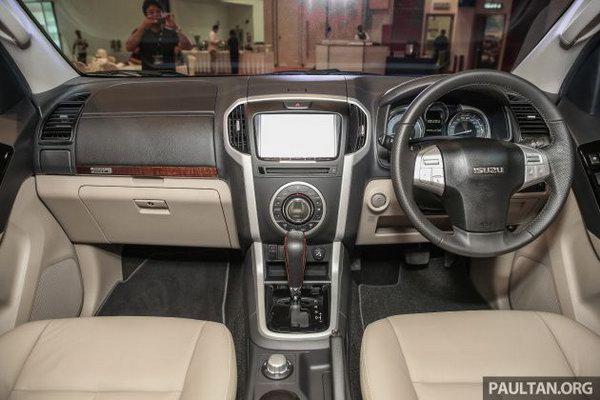 """Isuzu Mu-X thêm bản nâng cấp mới, quyết """"ăn thua"""" với Toyota Fortuner - 4"""