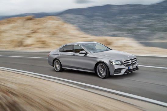 Mercedes-Benz nâng cấp nhẹ E-Class 2018 - 1