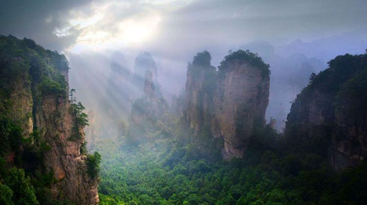 """Chinh phục núi bay có thật trong siêu phẩm """"Avatar"""" - 1"""