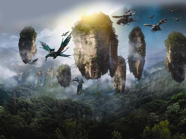 """Chinh phục núi bay có thật trong siêu phẩm """"Avatar"""" - 2"""