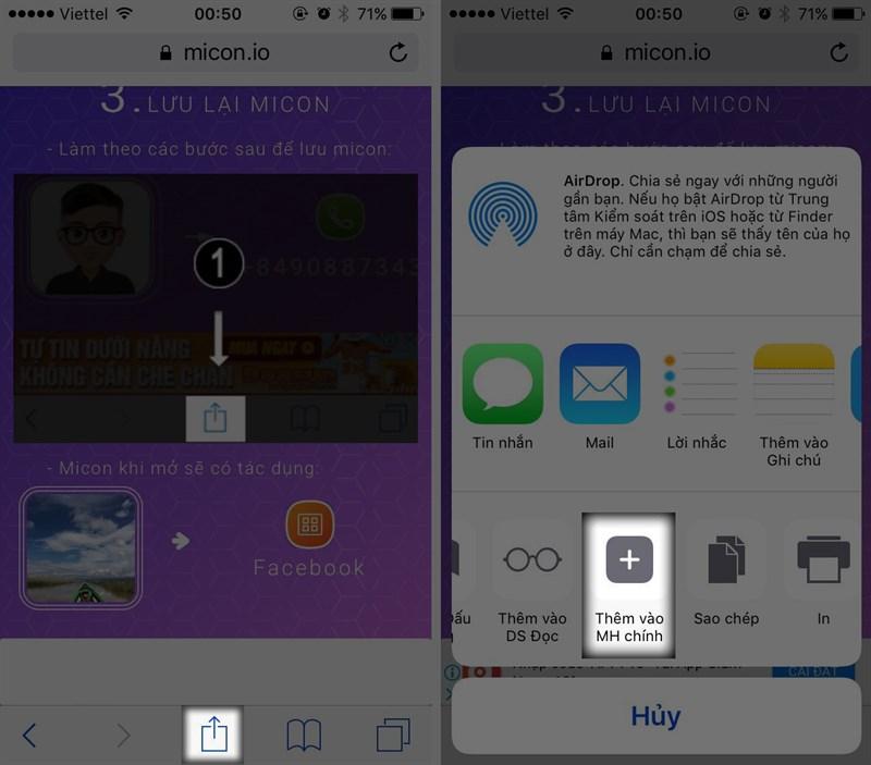 Hướng dẫn dùng ảnh cá nhân làm icon ứng dụng điện thoại - 3