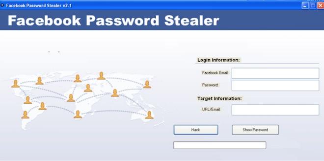 Hiểm họa từ phần mềm đánh cắp mật khẩu Facebook - 1