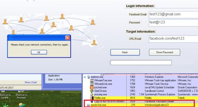 Hiểm họa từ phần mềm đánh cắp mật khẩu Facebook - 2