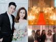 """Tiệc cưới tiền tỷ của chồng cũ Phi Thanh Vân và vợ 3 toàn """"sao khủng"""""""