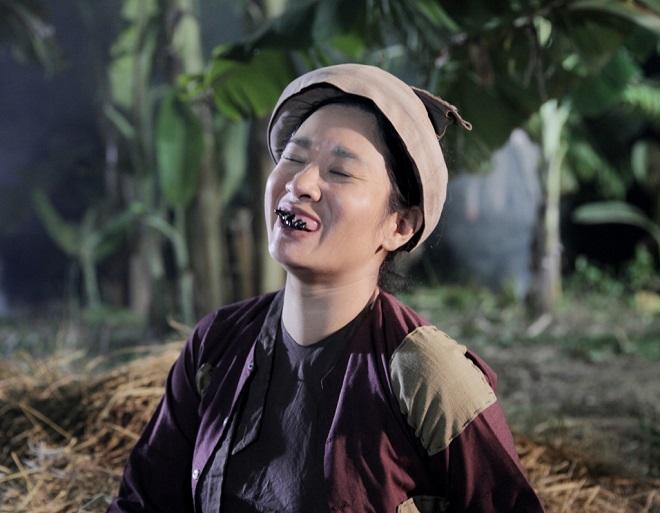 Choáng với tạo hình răng vẩu, ngọng líu lô của các người đẹp màn ảnh Việt - 10
