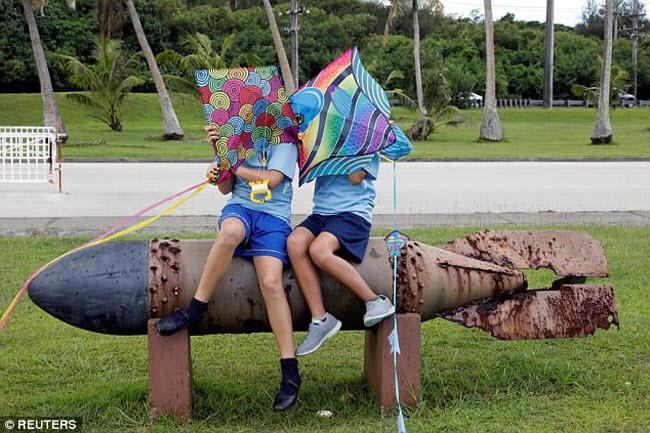 Cảnh thư nhàn ở đảo Guam giữa lúc Triều Tiên dọa tấn công - 2
