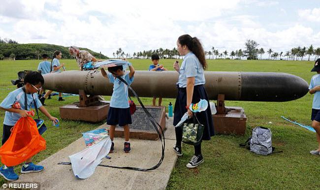 Cảnh thư nhàn ở đảo Guam giữa lúc Triều Tiên dọa tấn công - 7