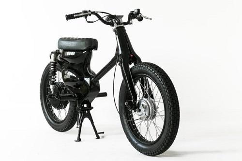 Xe điện ECub - Hiện thân của Honda Cub - 2