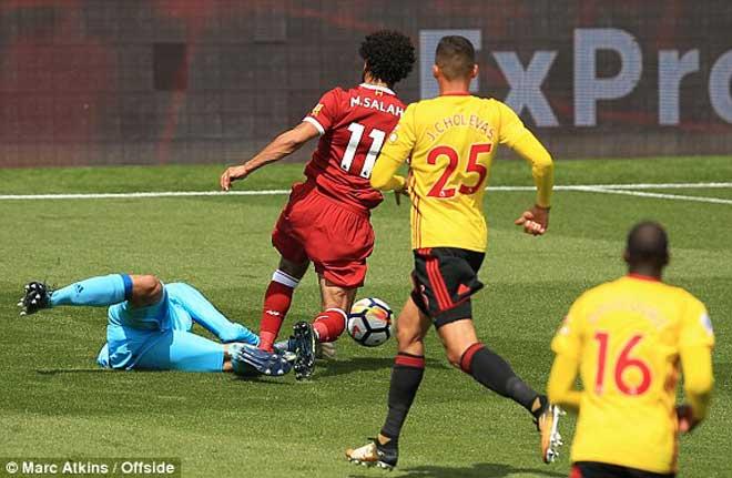 Tân binh đắt nhất lịch sử Liverpool ra mắt cực chất: Kèo trái như Robben - 1