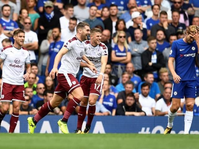 Chelsea - Burnley: 2 thẻ đỏ, 5 bàn thắng kịch tính