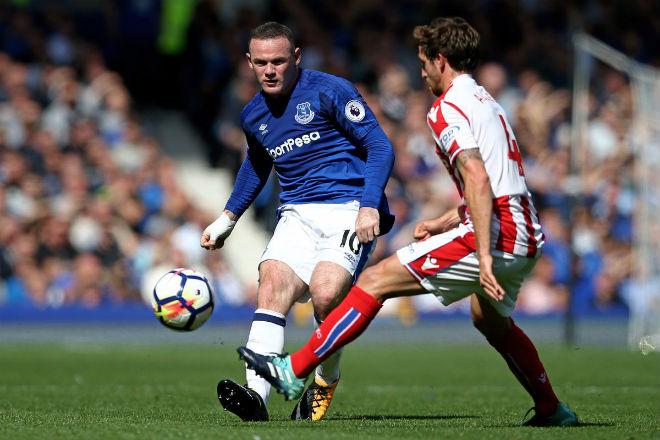 Everton - Stoke: Rooney tưng bừng kỷ lục 4.869 ngày - 1