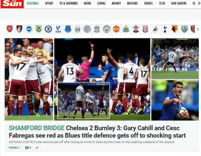 "Chelsea thua sốc: ""Triệu fan"" MU hả hê, báo chí khen Morata, mắng Conte - 4"