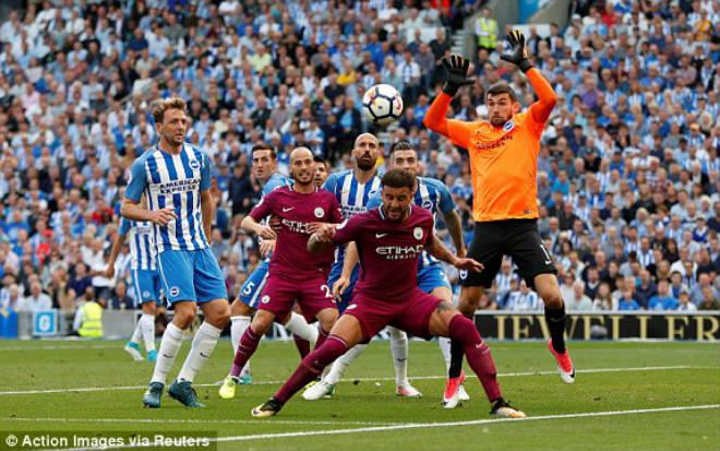 Brighton - Man City: Penalty hụt và 2 sai lầm chí tử - 1