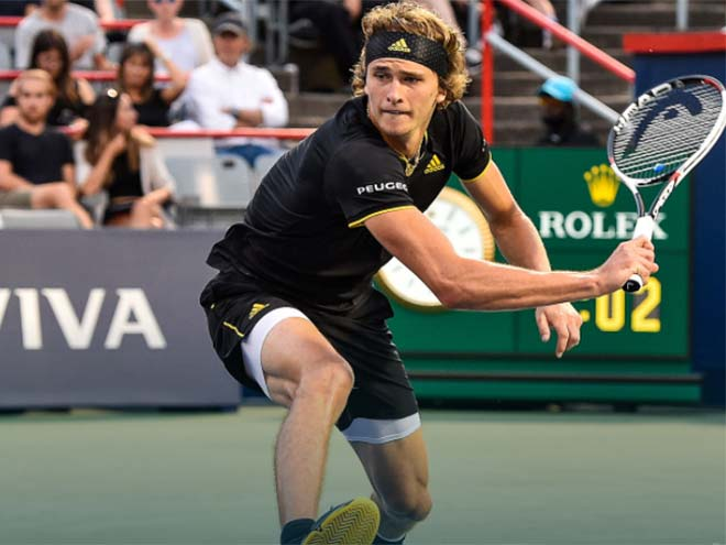 Chung kết Rogers Cup: Trí khôn Federer gặp sức trẻ Zverev - 1