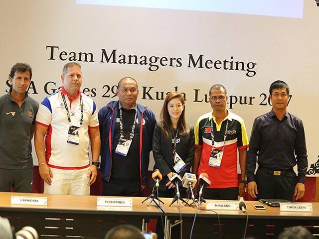 Săn HCV SEA Games 29: Thái Lan, Việt Nam, Malaysia tỏ tham vọng lớn