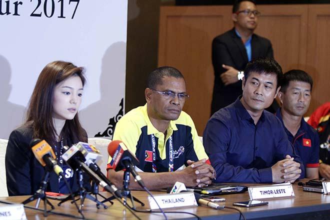 Nữ trưởng đoàn xinh đẹp U22 Thái Lan hết lời khen U22 Việt Nam - 2