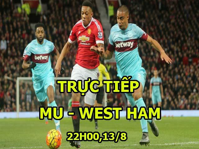 """TRỰC TIẾP MU - West Ham: Đủ mặt """"bom tấn"""", chờ đấu người cũ"""