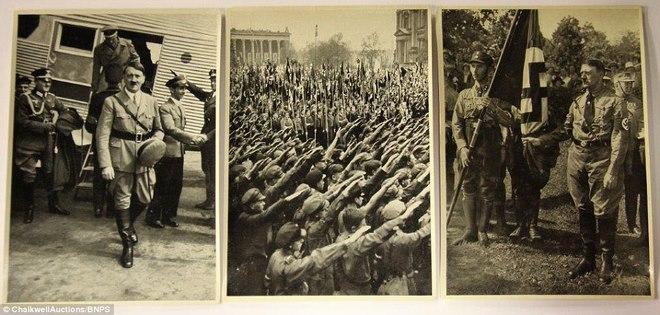 Loạt ảnh hiếm về trùm phát xít Hitler - 8