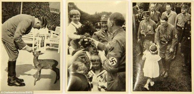 Loạt ảnh hiếm về trùm phát xít Hitler - 1