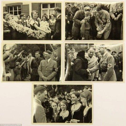 Loạt ảnh hiếm về trùm phát xít Hitler - 4