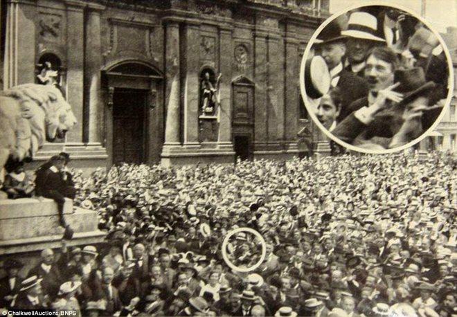 Loạt ảnh hiếm về trùm phát xít Hitler - 3