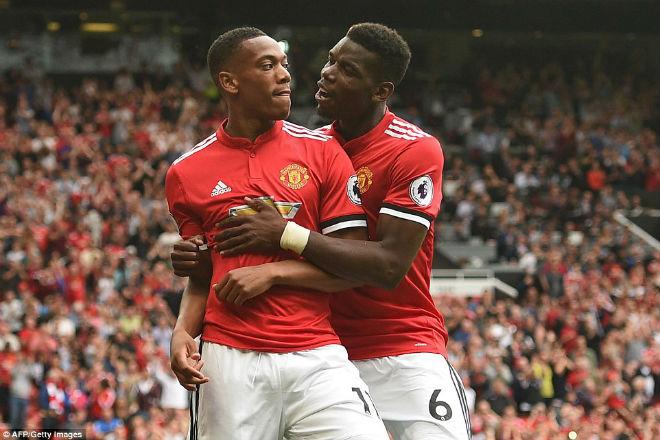 """Ấn tượng MU: Mourinho lạnh lùng, Lukaku """"điên"""" cùng Pogba - 9"""