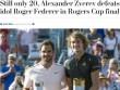 """Thế giới choáng váng: """"Vua"""" Federer gục ngã bởi """"Hoàng tử"""" Zverev"""