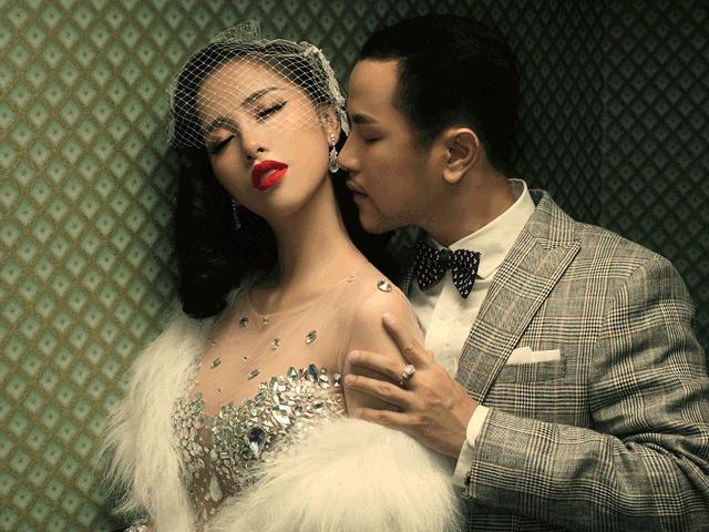 Ảnh cưới nóng bỏng của anh trai Bảo Thy và hot girl giàu có