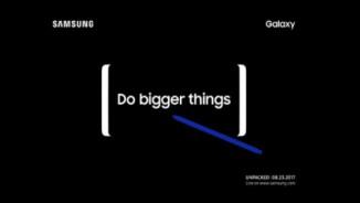 """Samsung úp mở sự kiện Note 8, tuyên bố """"Làm lớn hơn"""""""