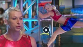 Choáng với sức mạnh cơ bắp phi thường của nữ ninja nước Mỹ