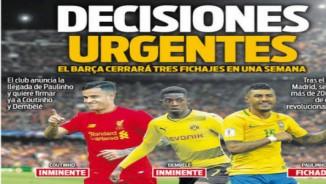 Barca chốt tam tấu 240 triệu bảng: Coutinho - Dembele - Paulinho xuất kích