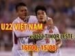 U22 Việt Nam – U22 Timor Leste: Công Phượng ẩn mình, đợi ra quân bùng nổ