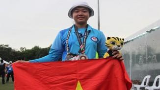 """""""Hot girl"""" Kiều Oanh 5 năm khổ luyện suýt lên đỉnh SEA Games"""