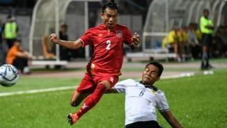 """Video, kết quả bóng đá U22 Lào - U22 Myanmar: """"Ronaldo Myanmar"""" mở điểm & phút bù giờ vỡ tim"""