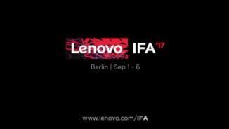 Lenovo tung video nhá hàng trước thềm IFA 2017