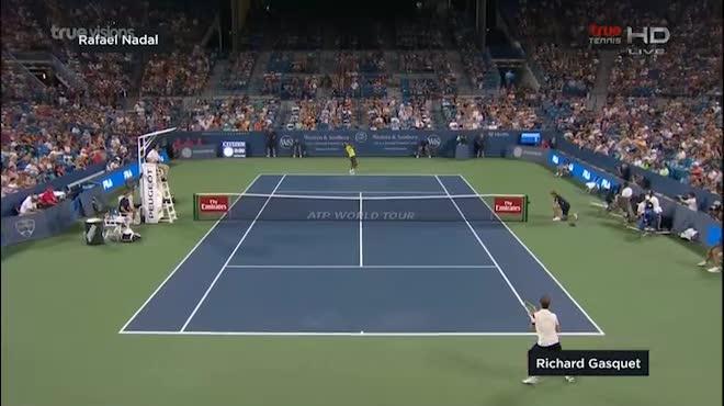 """Cincinnati ngày 4: """"Tiểu Federer"""" hạ cựu vô địch US Open"""