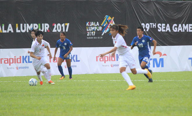 """SEA Games: Gồng mình ở """"lò thiêu"""", tuyển nữ Việt Nam vẫn ca khúc khải hoàn - 3"""