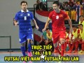 TRỰC TIẾP Việt Nam - Thái Lan: Đáp trả ngang ngửa (SEA Games)