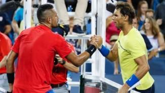 """Trực tiếp tennis Cincinnati ngày 6: Nadal thua đau, """"ngai vàng"""" là của Kyrgios"""