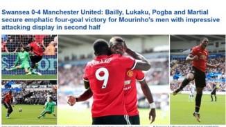 """MU lại thắng hủy diệt, báo thế giới gọi là """"Bầy quỷ"""" đáng sợ của Mourinho"""