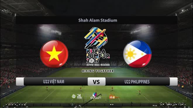 U22 Việt Nam - U22 Philippines: Đại tiệc bàn thắng, niềm vui lớn lao