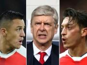 Bóng đá - Arsenal thua thảm: Ozil bất lực, rủ Sanchez chạy trốn Wenger