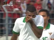 Bóng đá - U22 Indonesia - U22 Timor Leste: Rượt đuổi phút cuối, ẩu đả & thẻ đỏ